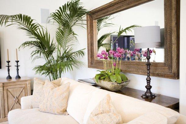mirror behind sofa erin V